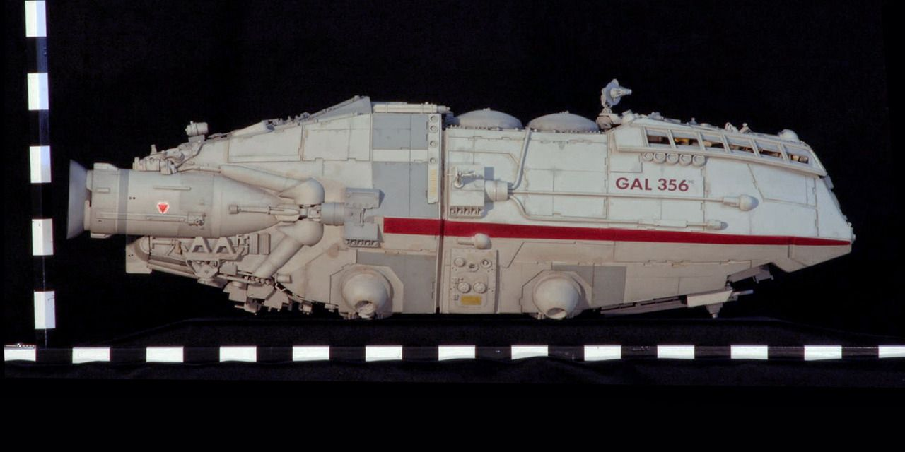 Battlestar Galactica 1978 Shuttle Miniature With Images