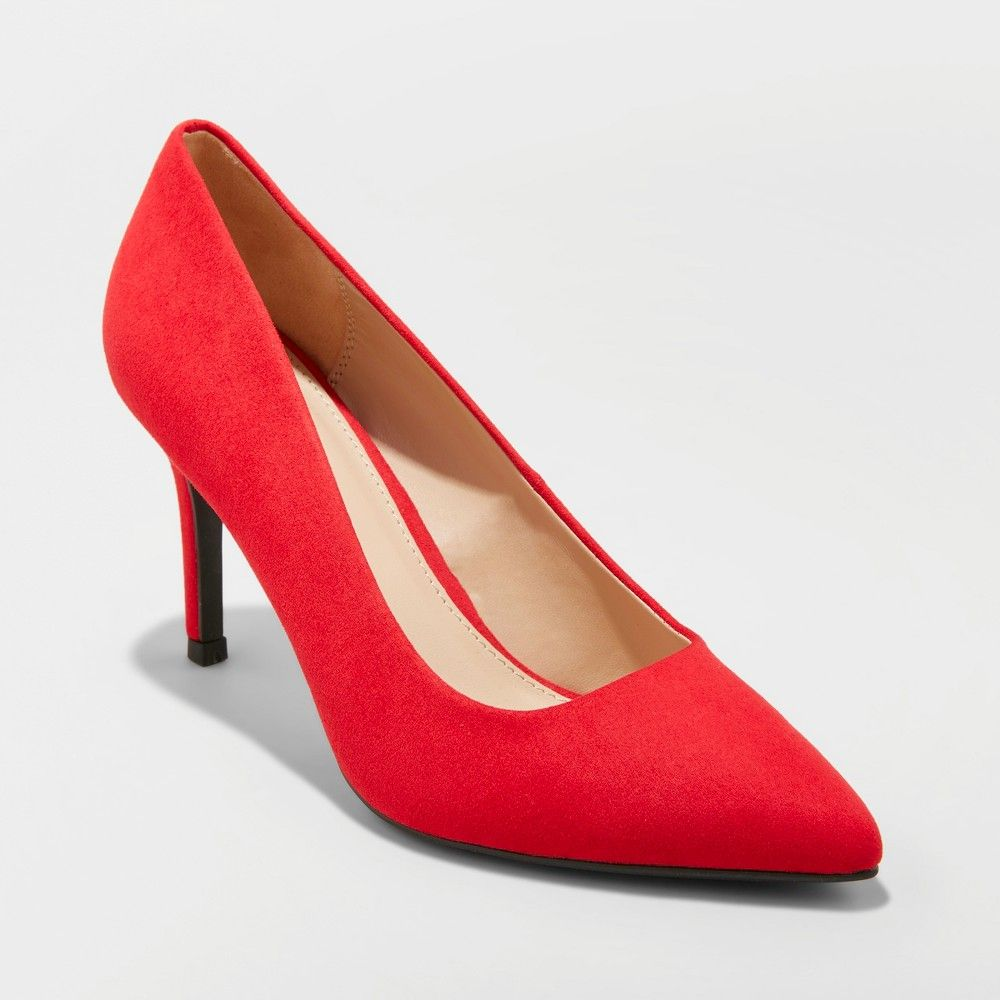 e029ffe1892c Do it all in the Gemma Wide-Width Pointed-Toe Pumps from A New Day. These  are the go-anywhere do-anything closed-toe pumps every closet needs.