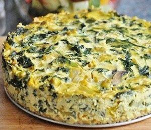 Amazing Gluten-Free Vegan Frittata w/ Brown Rice Crust