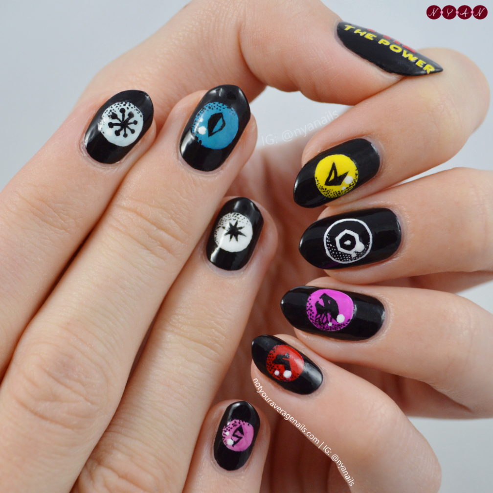 EXO Power Orbs Nail Art | nails | Pinterest | Exotic nails and Manicure