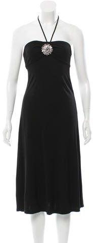 Michael Kors Embellished Knee-Length Dress