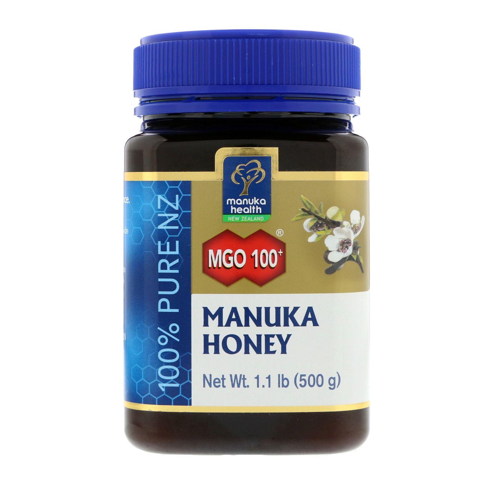 Manuka Health Manuka Honey Mgo 115 1 1 Lb 500 G Manuka Honey Honey Health