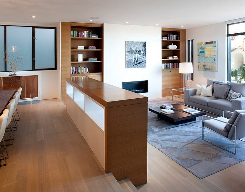Kitchen A Modern Makeover Part 1 Planetdwell Sunken Living Room Sunken Living Room Railing Sunken Living Room Railing Ideas