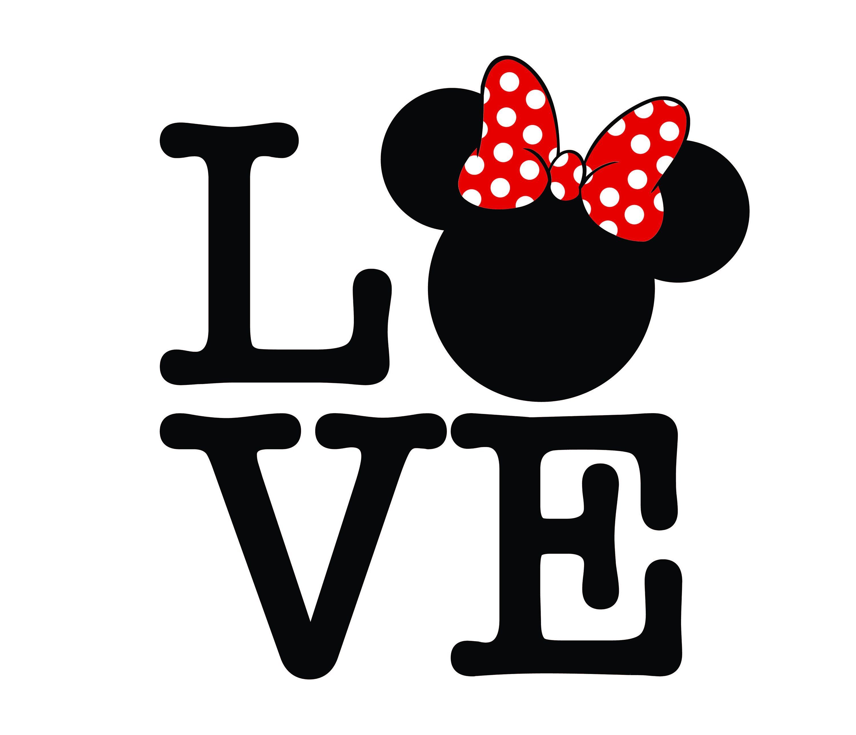 Download Love mickey svg Love Minnie Love Wording Svg   Etsy   Love ...