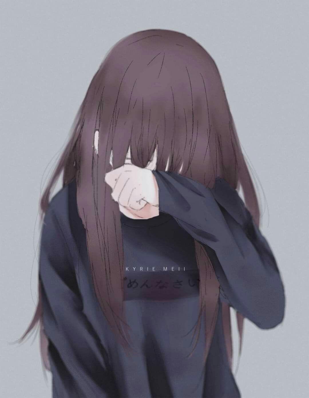 Pin Oleh Santika Zahrul Di Art Words Draw Anime Di 2020 Gambar Anime Gadis Anime Sedih Gadis Animasi