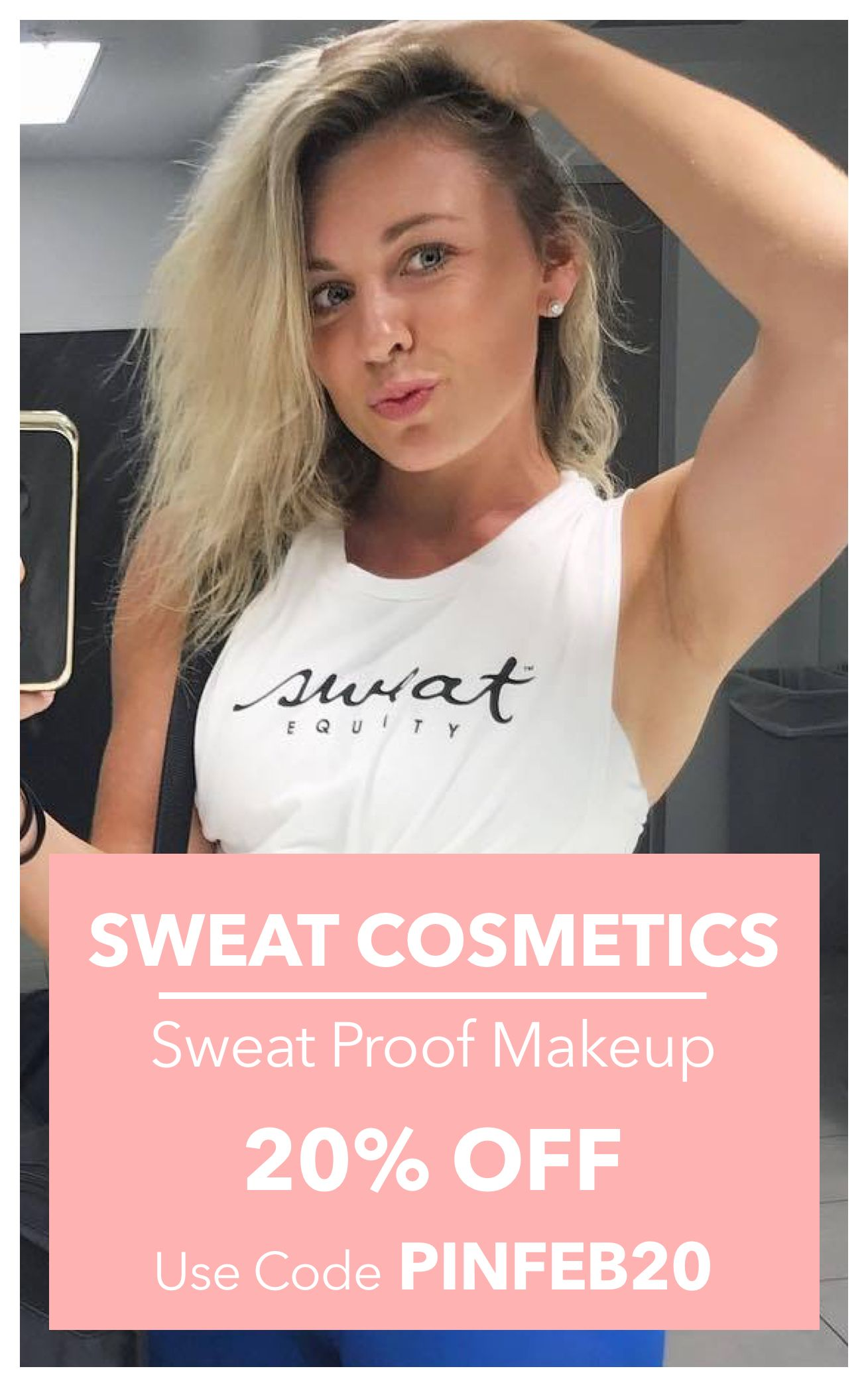 Enjoy 20 off on your first order Sweat proof makeup