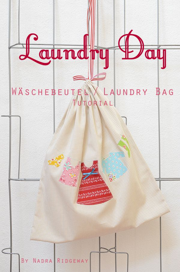 Wäschebeutel / Laundry Bag Tutorial | Small Patchwork Projects ...