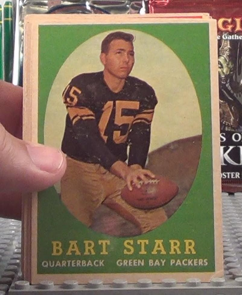 1958 topps football cards 44 total starr unitas and more