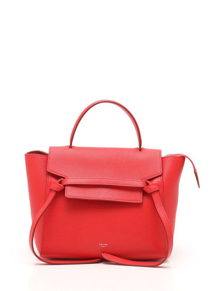 CELINE belt bag micro handbag leather red 2WAY  fashion  clothing  shoes   accessories  womensbagshandbags (ebay link) d8e33cee5f
