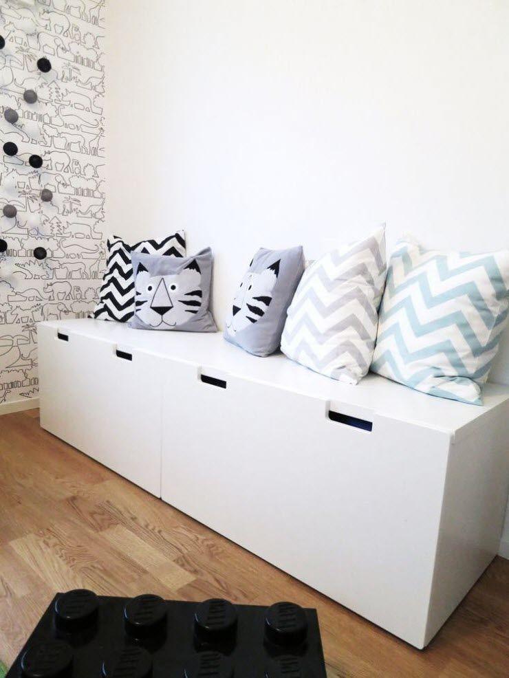 Rangement Chambre Enfant Ikea Stuva … | Pinteres…
