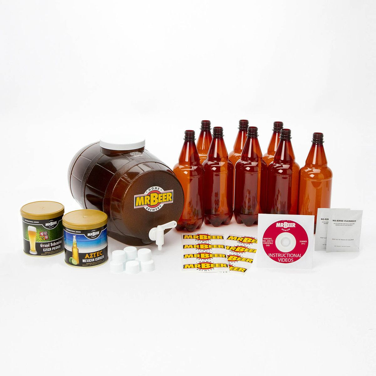Mr. Beer Premium Gold Kit. Do I want to give him a beer brewing kit ...