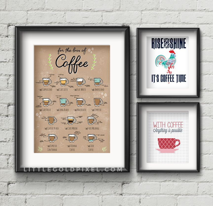 Kitchen Pictures For Wall: 20 Kitchen Free Printables • Wall Art Roundup