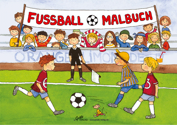 Malbuch Fussball bei www.party-princess.de