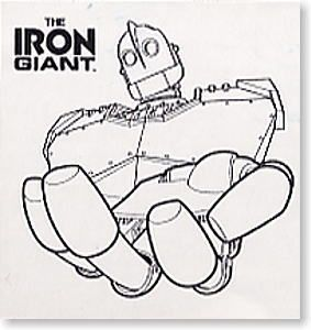 1 76 The Iron Giant Limited Edition Resin Kit Toys Works The Iron Giant The Iron Giant Disney Sketches Resin Kit
