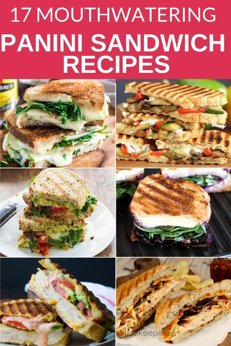 A COLLECTION OF MY FAVORITE PANINI SANDWICH RECIPE SOMETHING