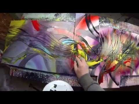 Abstract Speed Painting Demo Video Hd Valentine By John Beckley