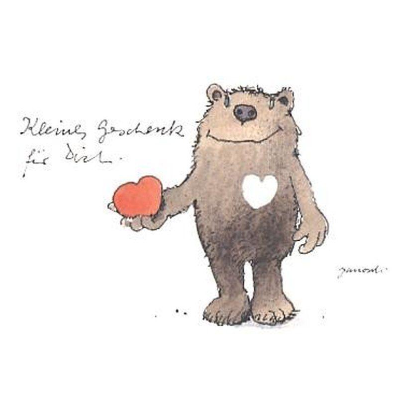 Janosch Valentinstag #janoschvalentinstag   Postkarten ...
