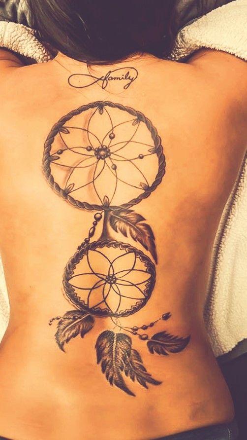 Double Dream Catcher Tattoo Double Dream Catcher Art Tattoo inspiration Pinterest Dream 2