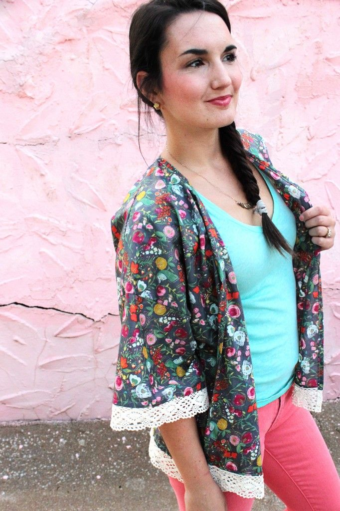 Get the Free Pattern and Tutorial for a sweet and simple kimono ...