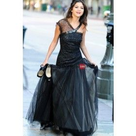 Celebrity evening dresses replica