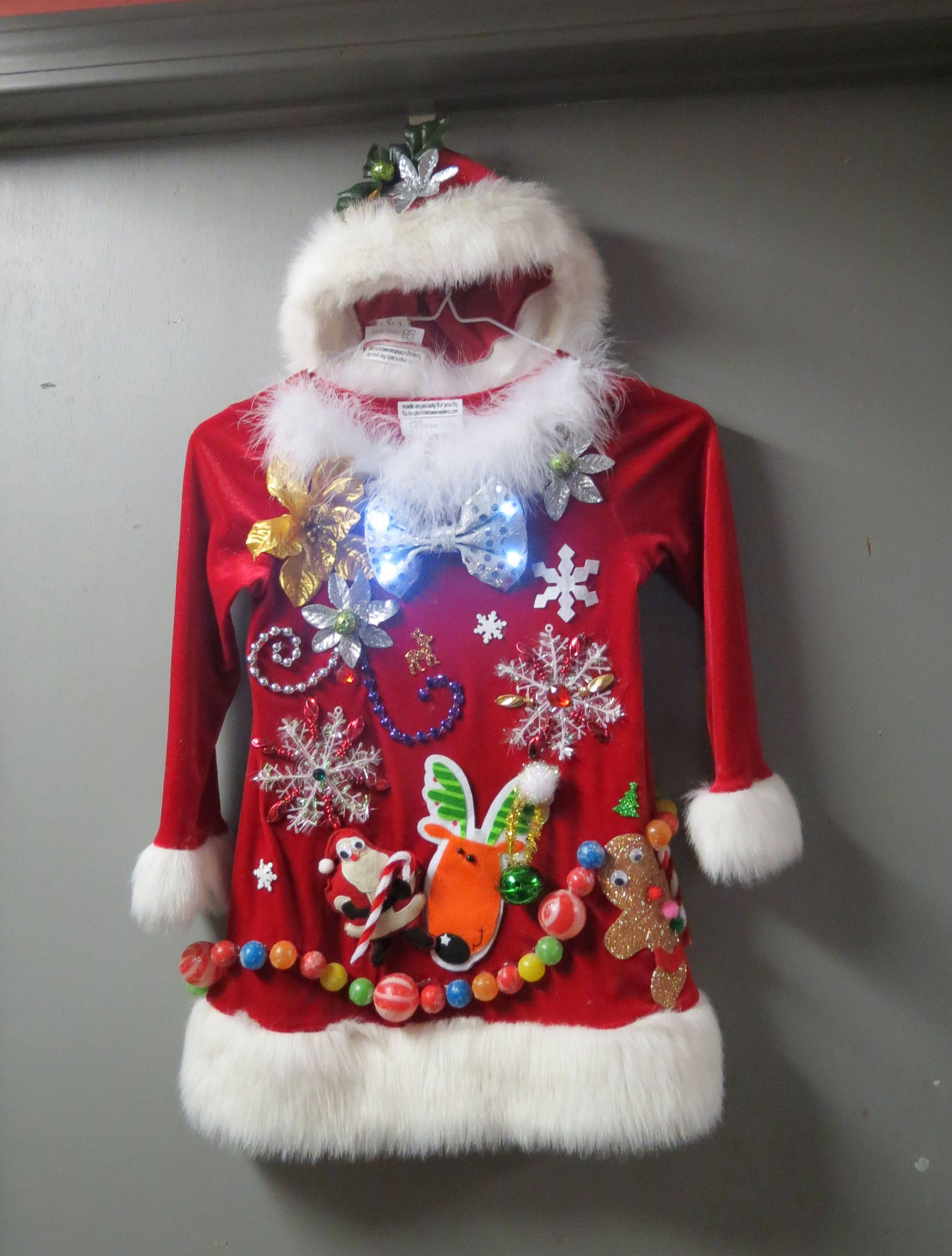 ugly christmas tree sweater
