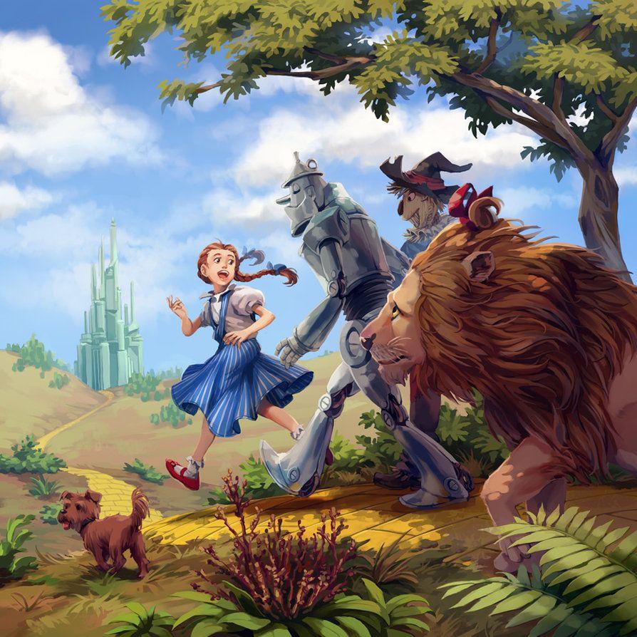 The Wonderful Wizard Of Oz By Nikogeyer On Deviantart Wizard Of Oz Book The Wonderful Wizard Of Oz Wizard Of Oz