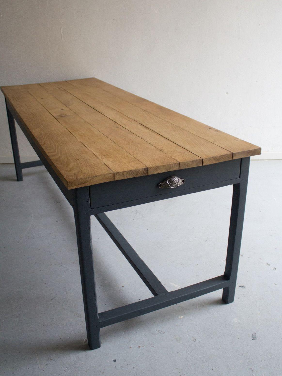 Table De Ferme Jardin   Table de ferme, Table à manger de ferme ...