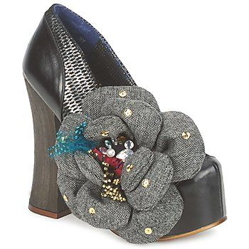 scarpins Irregular Choice JELLY AND ICE CREAM Preto 350x350