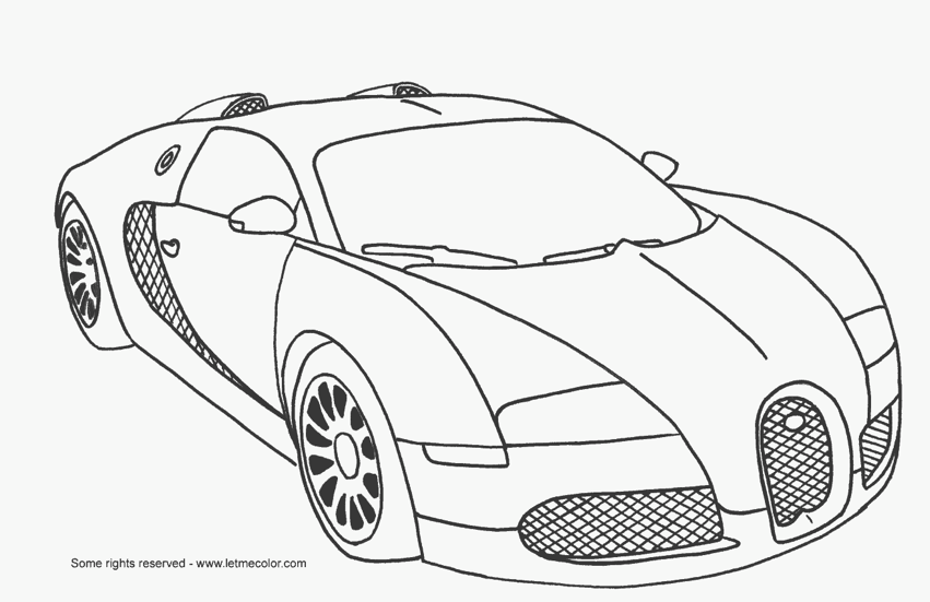 Fast Car Coloring Pages Fast Car Coloring Page Cars Coloring Pages Race Car Coloring Pages Bugatti Veyron