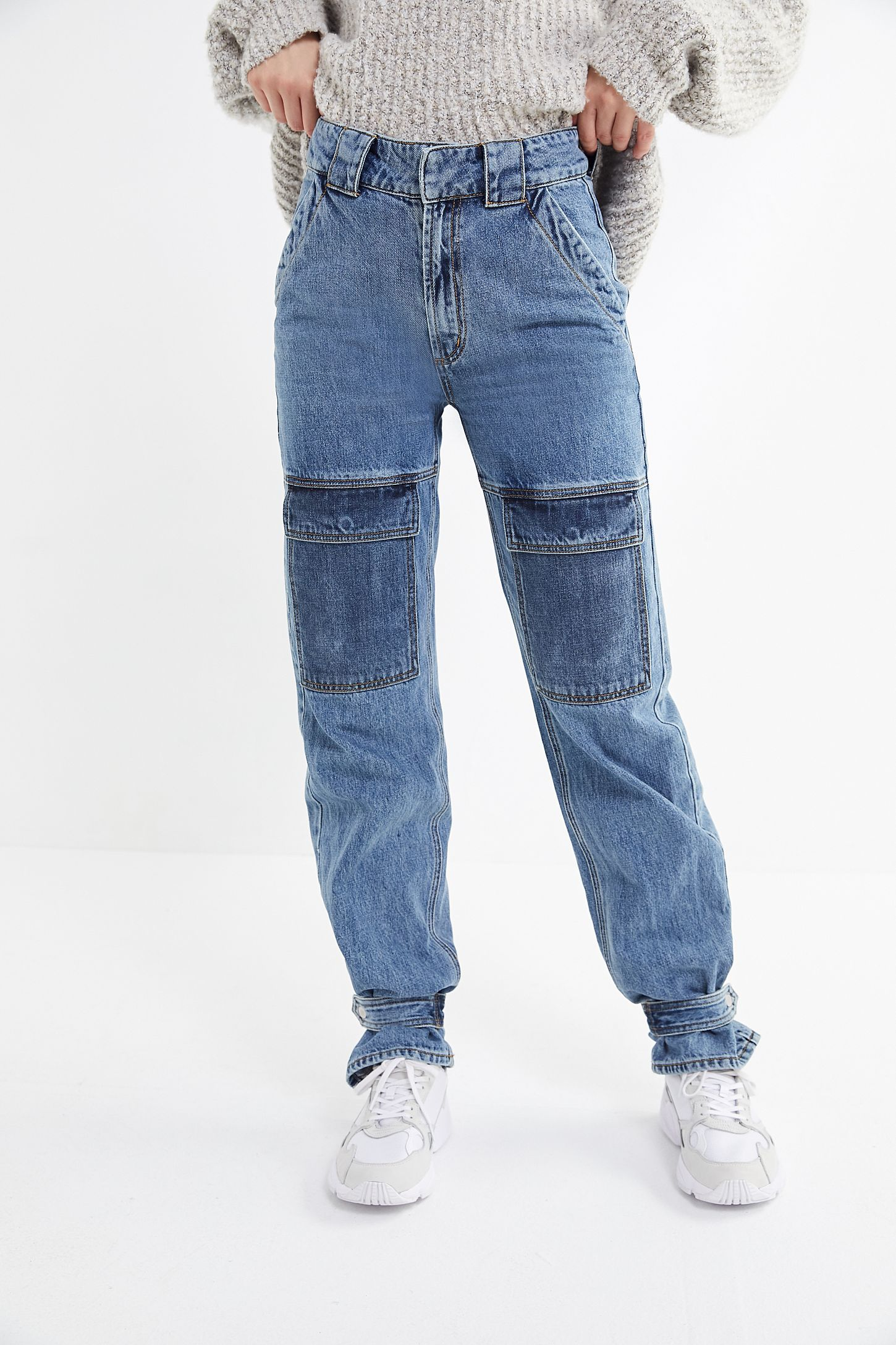 6c70475c BDG Tawney Snap Button-Tab Cargo Jean in 2019 | clothing/style ...