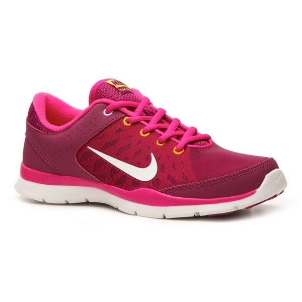 Nike Flex Trainer 3 Lightweight Cross Training Shoe - Womens (863.510 IDR)  ❤ liked on Polyvore featuring shoes 18eb4e6610c0
