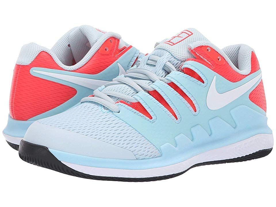 Nike Air Zoom Vapor X Still Blue White Bright Crimson Black Women S Tennis Shoes Bring Speed And Agility To The Match With The A Nike Nike Air Zoom Nike Air