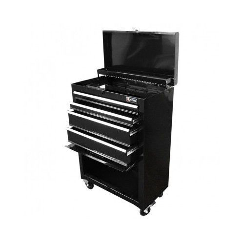 steel Tools Storage 4-Drawer Chest Roller Cabinet Combo #Excel