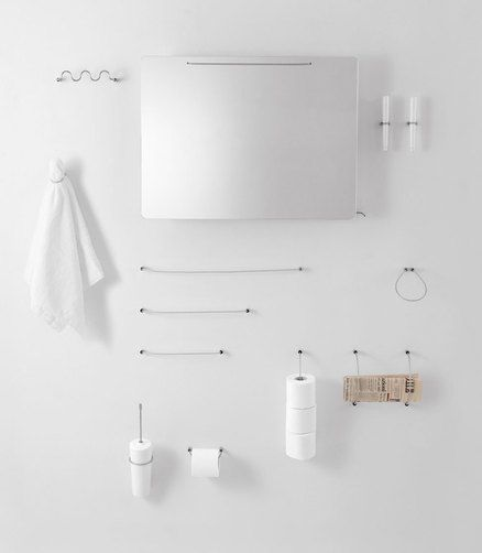 Agape - Products - Accessories - Bucatini | bathroom accessories ...
