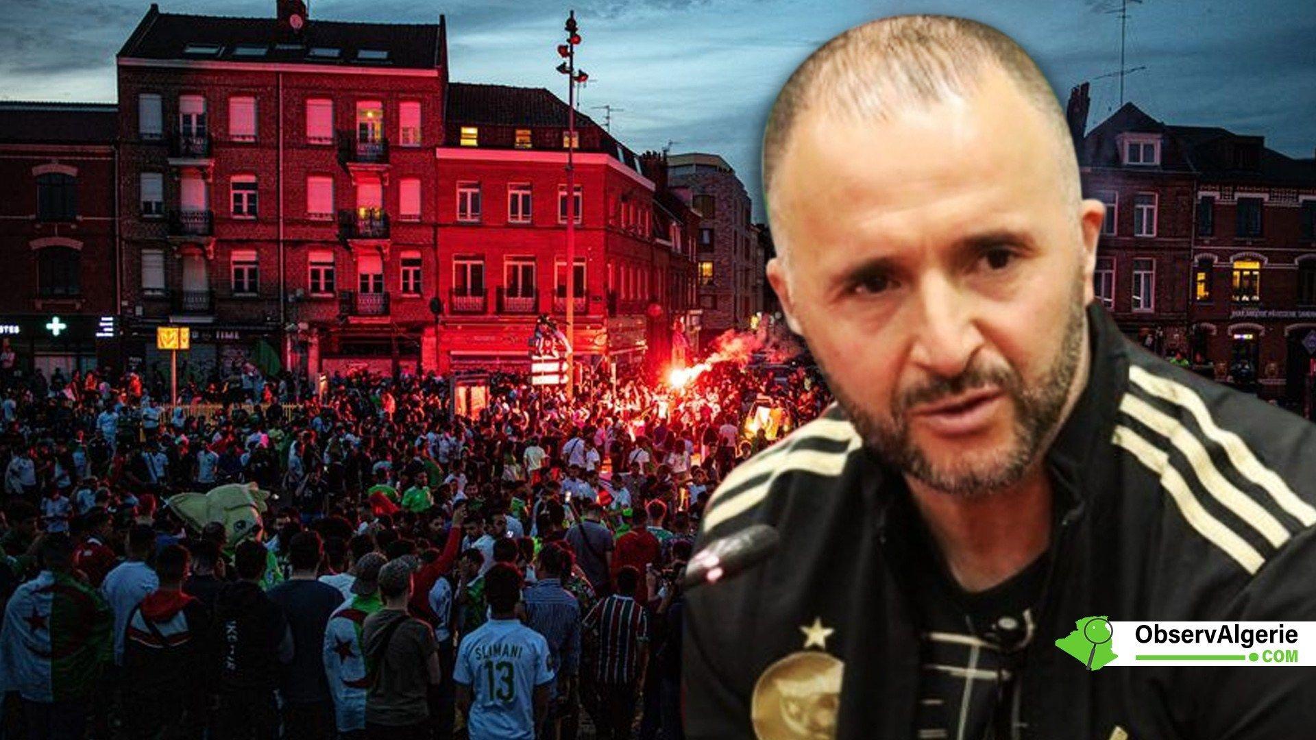 Algérie Sénégal Belmadi adresse un message aux
