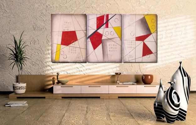Modern Interior Design with Symbolic Geometric Shapes and ...
