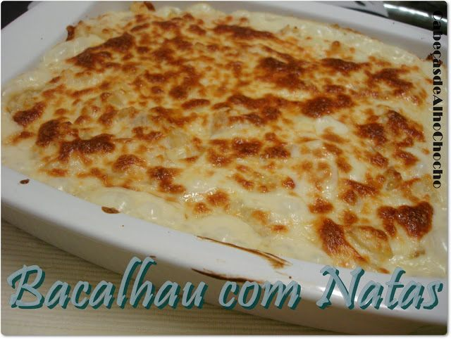 Bacalhau com Natas