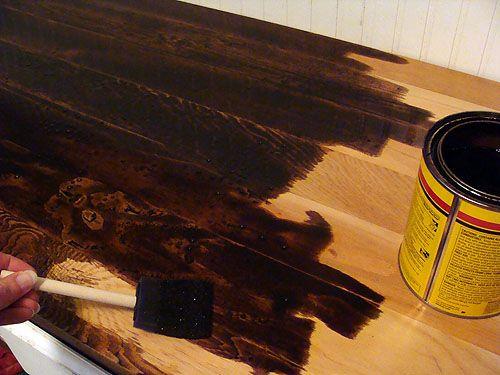 Make Your Own Wood Countertops Wood Countertops Diy Wood