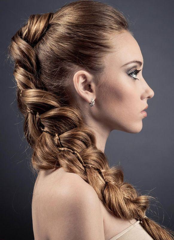 Geflochtener Zopf Flechtfrisuren Fur Lange Und Mittellange Haare