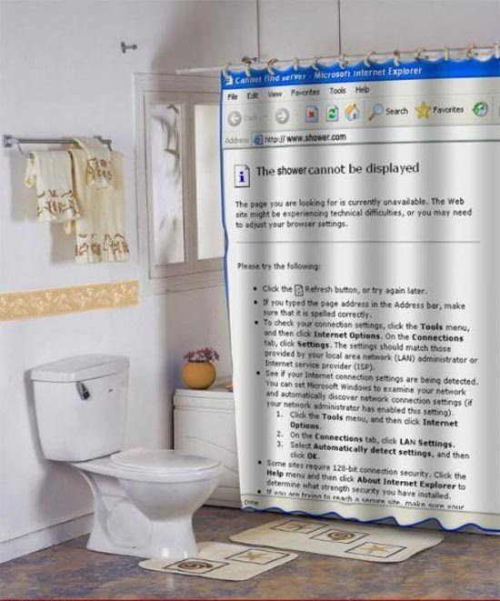 Internet Explorer Shower Curtain Funny Shower Curtains For Fun Bathroom Check More At Http Cool Shower Curtains Unique Shower Curtain Funny Shower Curtains
