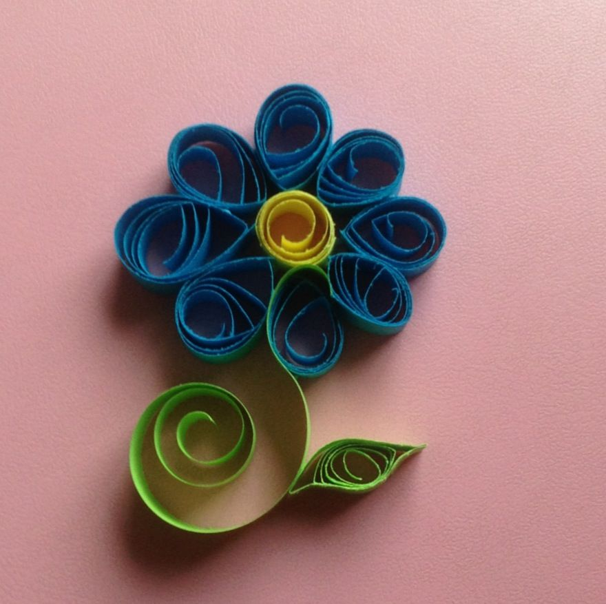 Paper quilling lilly flower flower paper quilling by mayli song paper quilling lilly flower flower paper quilling by mayli song mightylinksfo