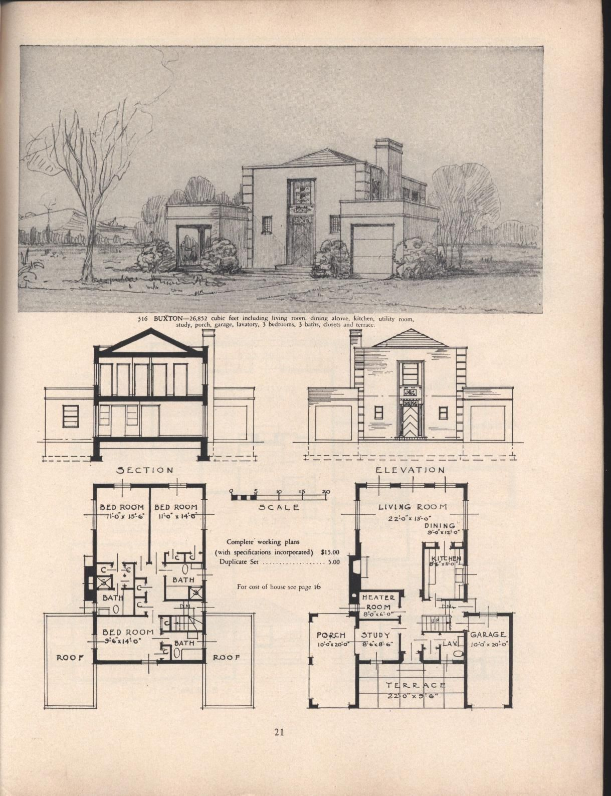 Books Of House Plans 2020 In 2020 House Plans Vintage House Plans House