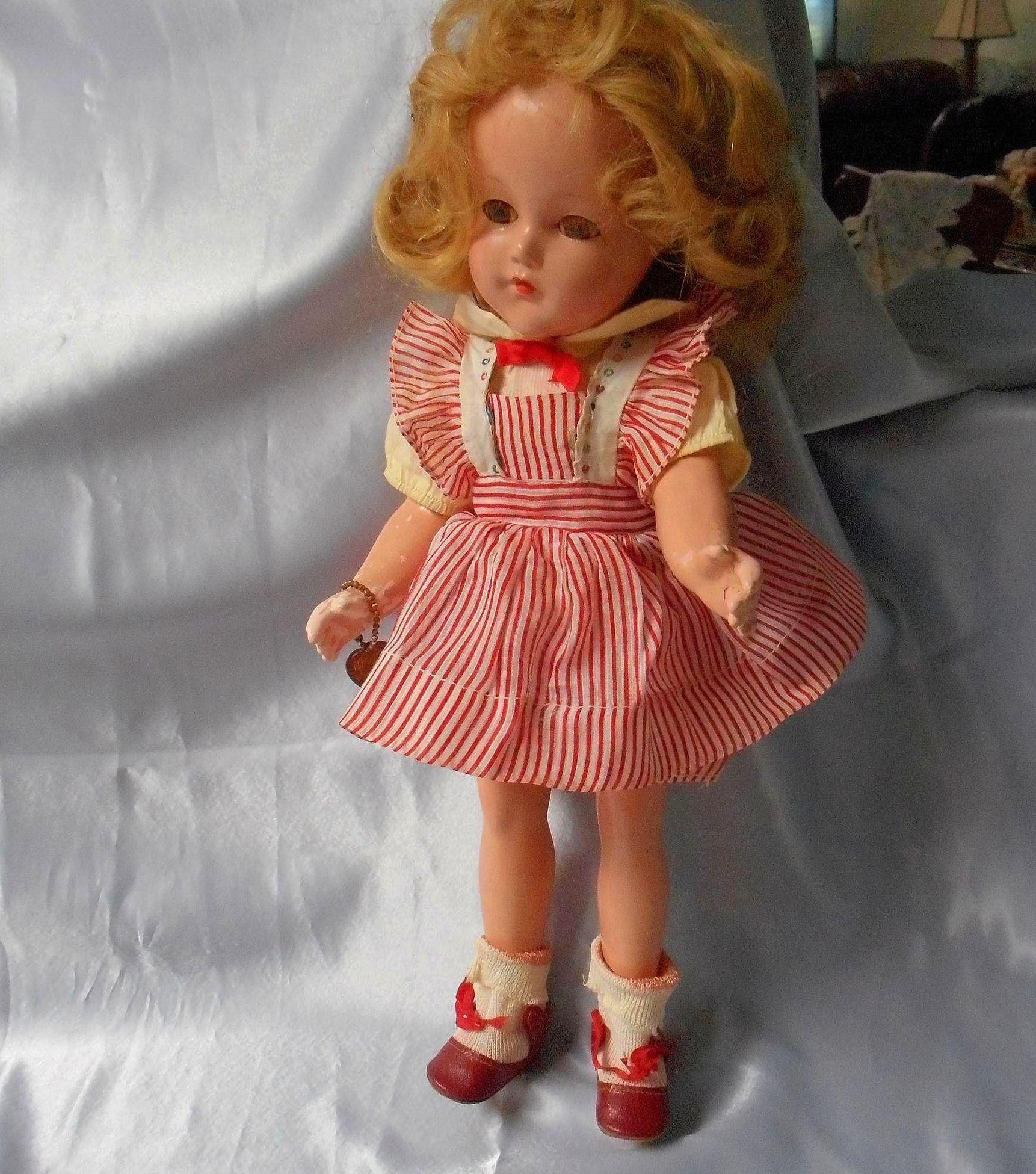"All Compo Effanbee ""Anne Shirley"" Doll, Original"