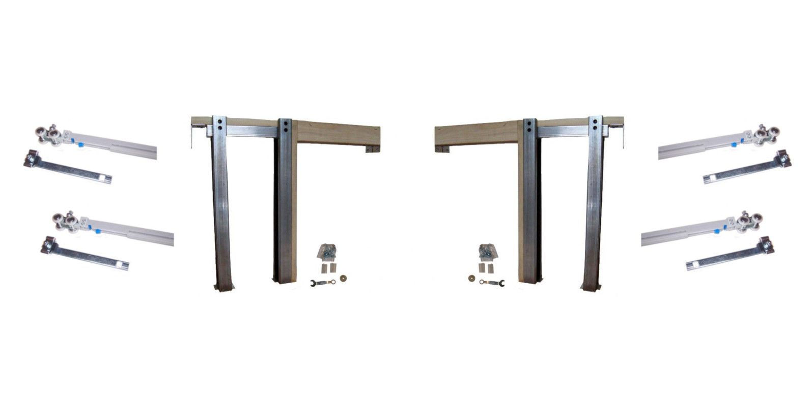 2450 Series Double Pocket Door Frame Kit With Soft Close Soft Open Pocket Door Frame Double Pocket Door Pocket Doors