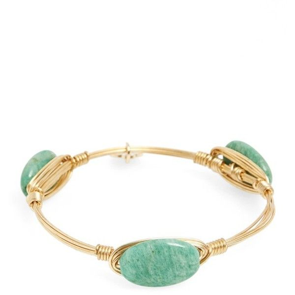 Bourbon and Boweties Extra Small Stone Bracelet (49 BAM) ❤ liked on Polyvore featuring jewelry, bracelets, green, hinged bangle, green bracelet, hinged bangle bracelet, hand crafted jewelry and green jewelry