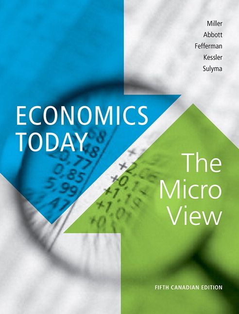 Solution manual for economics today the micro view 5th canadian solution manual for economics today the micro view 5th canadian edition by miller isbn 032175350x 9780321753502 fandeluxe Gallery