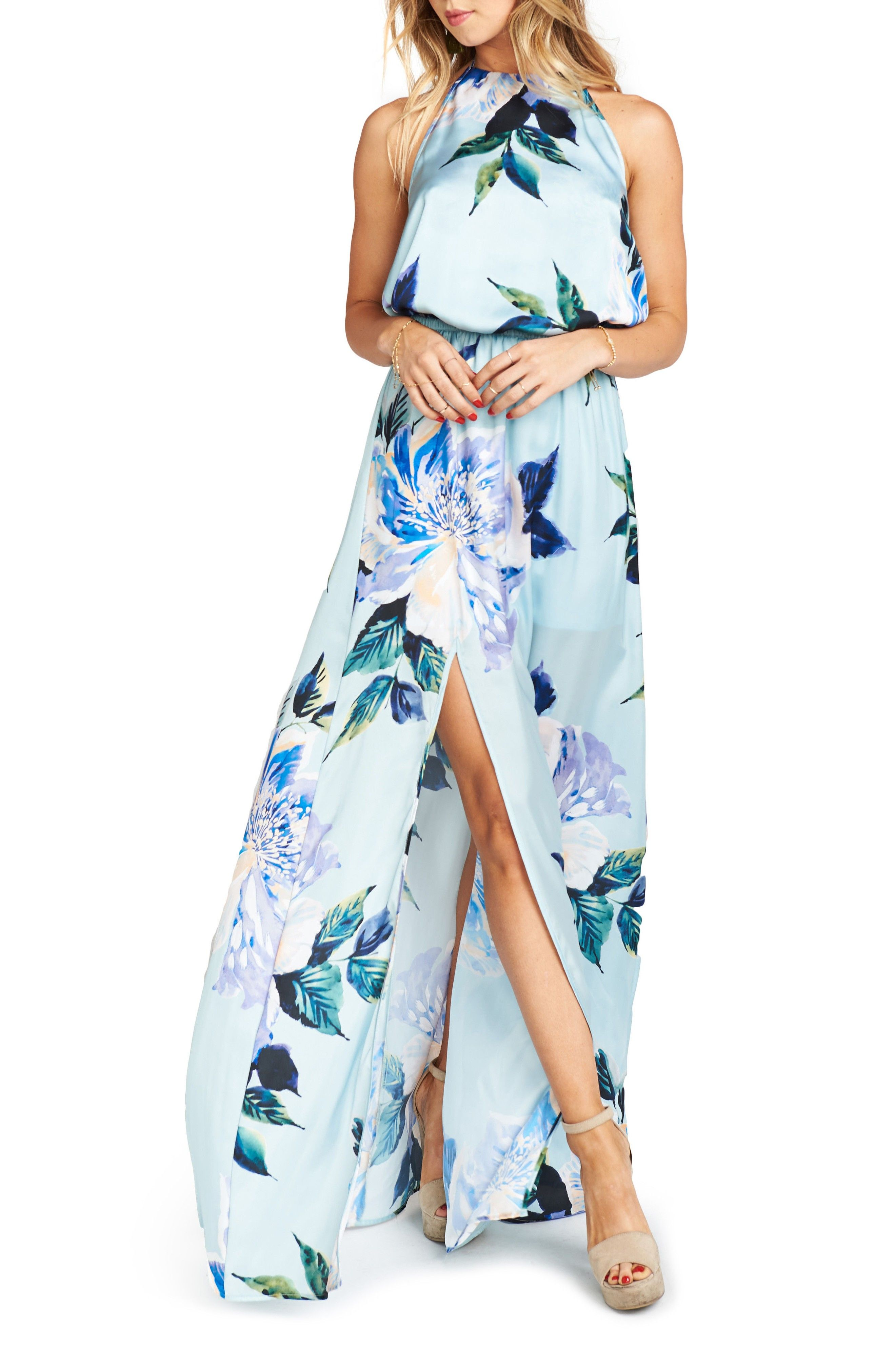 Summer wedding floral dresses weddinggueststyle pinterest
