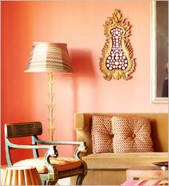 Angie S List Peach Rooms Peach Walls Dining Room Wall Color