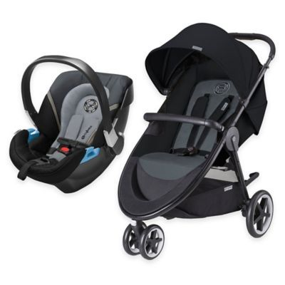 Cybex Agis & Aton 2 Travel System in Moon Dust - buybuyBaby.com