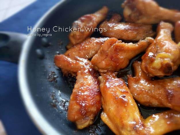 Resep Honey Chicken Wings Oleh Re Gina Resep Resep Sayap Ayam Sayap Ayam Makanan Dan Minuman